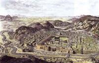 vue de la mecque by nicolas louis de lespinasse