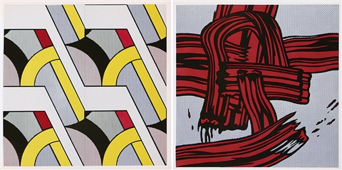 senza titolo 2 works by roy lichtenstein