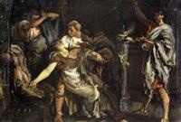 boceto de la muerte de lucrecia by eduardo rosales martínez