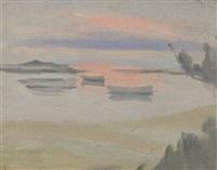 sunset by clarice marjoribanks beckett