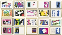 jazz (set of 20) by henri matisse