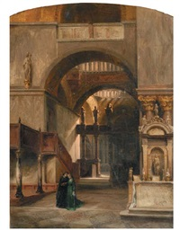 interno di chiesa by leopoldina borzino