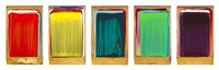 five part colour collection (quintych) by ciaran lennon