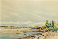 untitled (saskatchewan river) by robert newton hurley