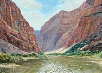 green river september: dinosaur monument, co by janie smith