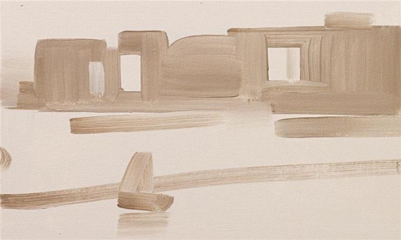 framed painting whistler by rafal bujnowski