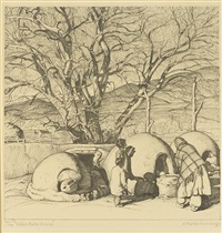 indian bake ovens by ernest martin hennings