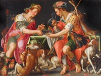 jacob and esau by joachim anthonisz wtewael