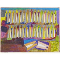 untitled (drying fish) by janet kigusiuq