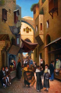 prayers in the old city by eduard gurevich