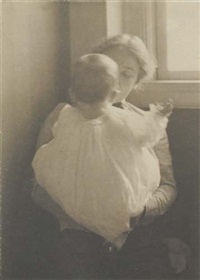 mother and child by frances & mary allen