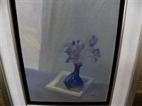 le vase bleu by claude le sauteur