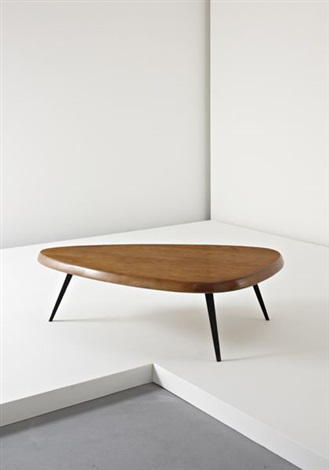 Free Form Coffee Table By Jean Prouvé And Charlotte Perriand