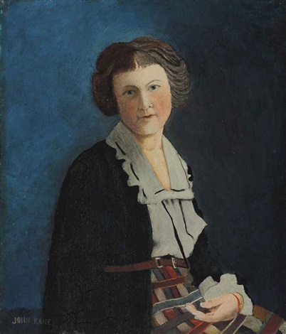 portrait of a girl by john kane