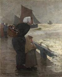 la femme du pêcheur by eugene lawrence vail