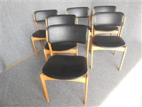 dining chairs (set of 6) by erik buch