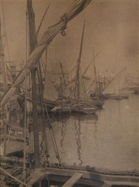 untitled (boats) by alvin langdon coburn