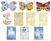 untitled (portfolio of 10) by laszlo dus