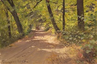 gladkovsky forest by mikhail alisov