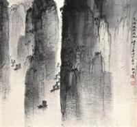 峡江行 by jiang mingxian