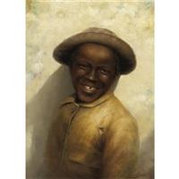 smiling boy by jefferson david chalfant