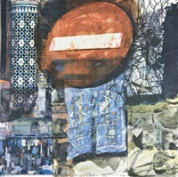 quattro mani marrakech iii by darryl pottorf and robert rauschenberg