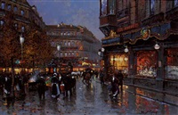 lumières de paris by vladimir fomine