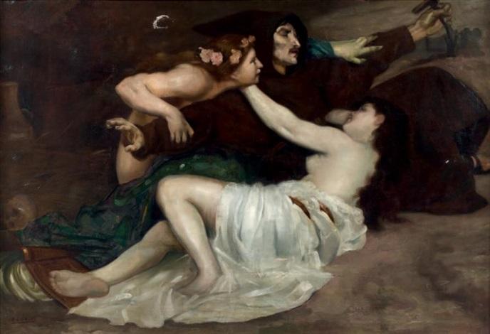 la tentation de saint antoine by paul françois quinsac