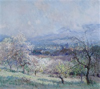 spring (thought to be near pasadena/la cañada) by john frost