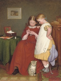 the crochet lesson by edward thompson davis