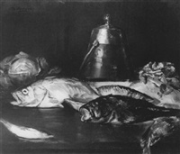 still life with fish by henry r. rittenberg