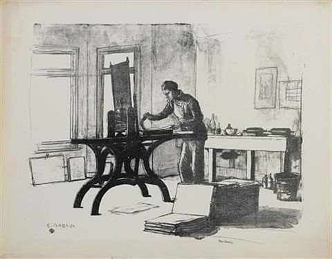 the printer by ethel gabain