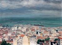 alger, la ville vue des hauteurs by albert marquet
