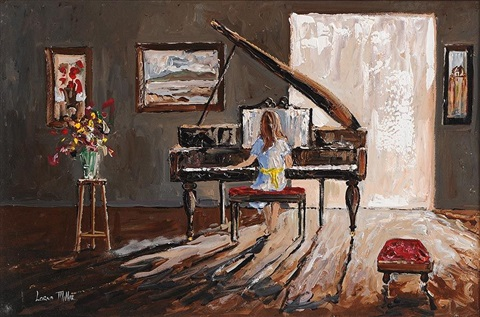 the piano player by lorna millar