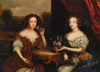 doppio ritratto femminile by paul brenas