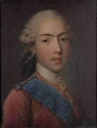 portrait du comte d'artois by jean-martial fredou