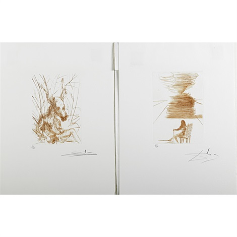 much ado about shakespeare (portfolio of 15) by salvador dalí