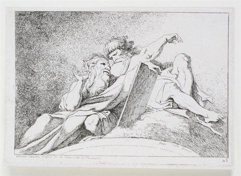 zwei propheten after annibale carracci by jean honoré fragonard
