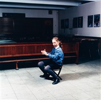 clarsach player, st. mary's music school edinburgh by wendy mcmurdo
