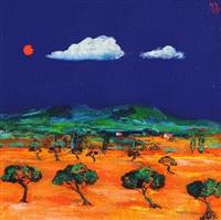 olive grove pertuis by david gordon hughes