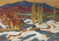 montagne bleue by victor smirnov