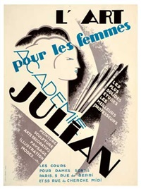 l'art pour les femmes/academie julian by marie therese robert