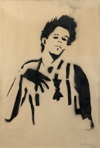 portrait by blek le rat