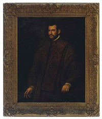 portrait of a man (andrea bracadin?) by domenico tintoretto