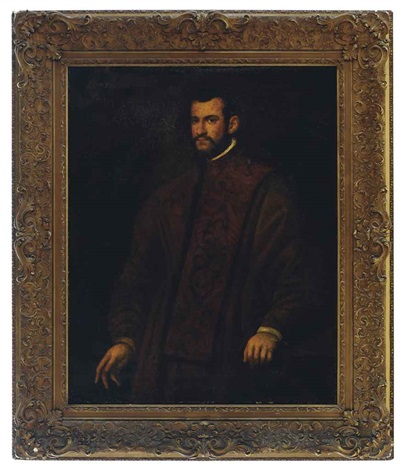 portrait of a man andrea bracadin by domenico tintoretto