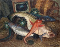 composition aux poissons by gaston andre