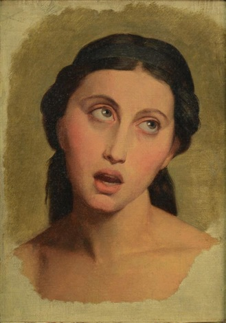 tete de rachel le tragedienne by jean auguste dominique ingres