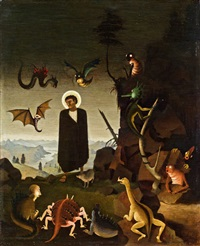 st. antonius by franz sedlacek