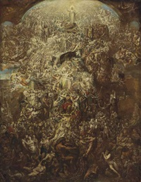 the apotheosis of queen victoria by james matthews leigh