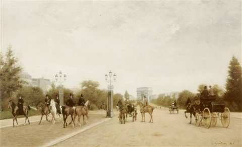 avenue foch by edmond georges grandjean
